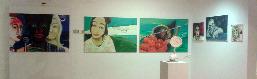 Blick in meinen Ausstellungsbereich